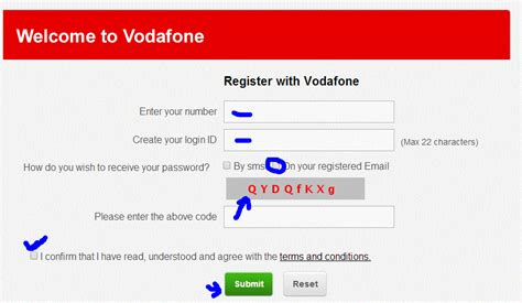 section 8 mobile al phone number vodafone get puk code reset pin through online or sms