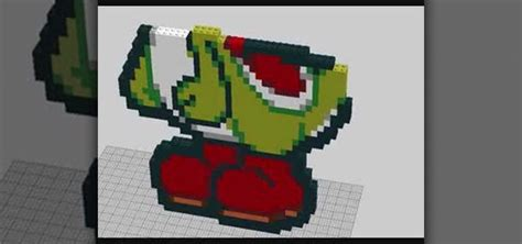 How To Make A Paper Lego - how to make paper yoshi out of lego blocks 171 novelty