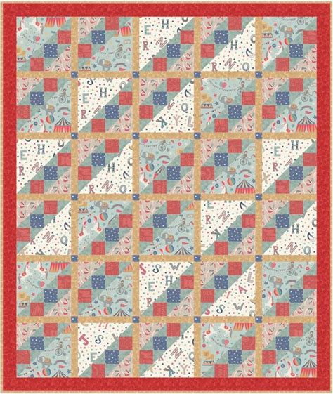 Lewis Quilts by Vintage Circus Quilt Lewis Irene