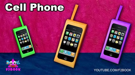 How To Make A Phone Out Of Paper That Works - how to make a paper cell phone tutorial funn time