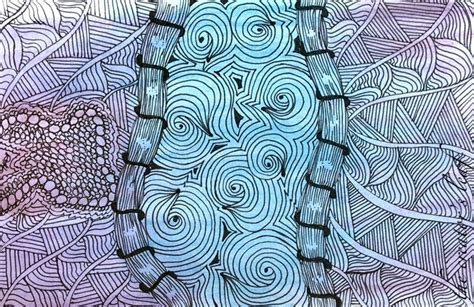 zentangle pattern quipple the creator s leaf