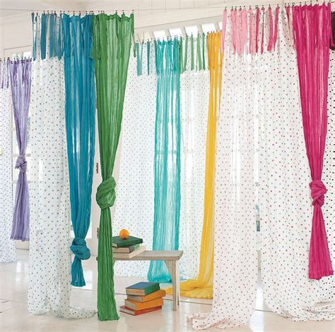 houzz curtains dottie sheer eclectic curtains by pbteen