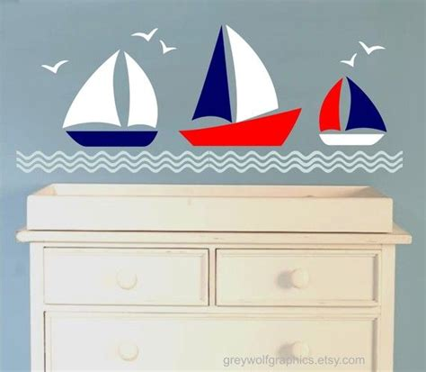 nautical futon covers liking these wall decals for boys room since their futon
