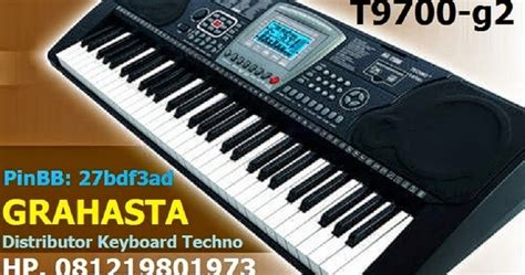 Keyboard Techno T9800i Baru keyboard techno jual keyboard musik techno t9880 t9800 t9700 grahasta