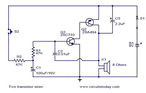 use capacitor in transistor lifier circuit simple schematic diagram with resistors capacitors and transistors elsavadorla