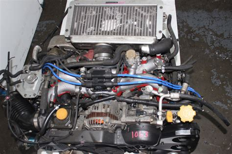 subaru impreza turbo engine jdm subaru impreza wrx sti gc8 v4 2 0l turbo ej20 engine 5