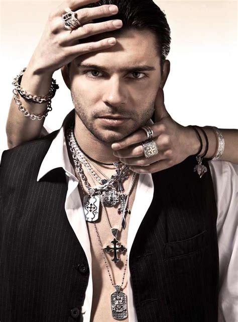 male celebrity jewelry men should try to put the necklace on jewelry gossip male