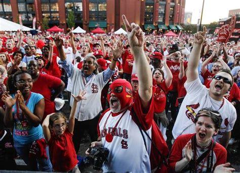 st louis cardinals fans cardinals fans are insufferable tribunedigital