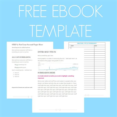 Free Ebook Template Preformatted Word Document What Mommy Does Ebook Template Word Free