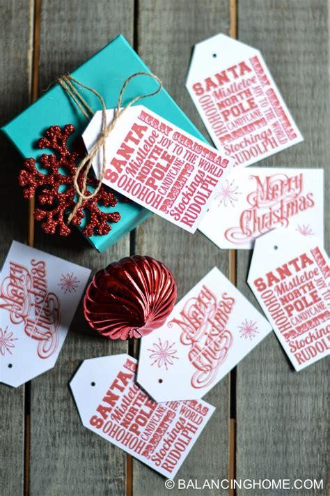 printable christmas gift bag tags five yummy gingerbread bag topper printable balancing