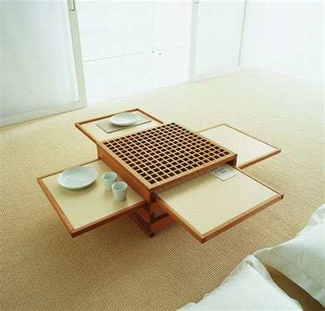 space coffee table space saving design collapsible coffee dinner tables
