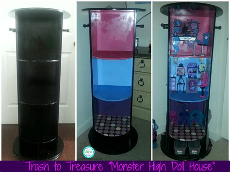 monster high doll house accessories ria s world of ideas trash to treasure quot monster high doll house quot