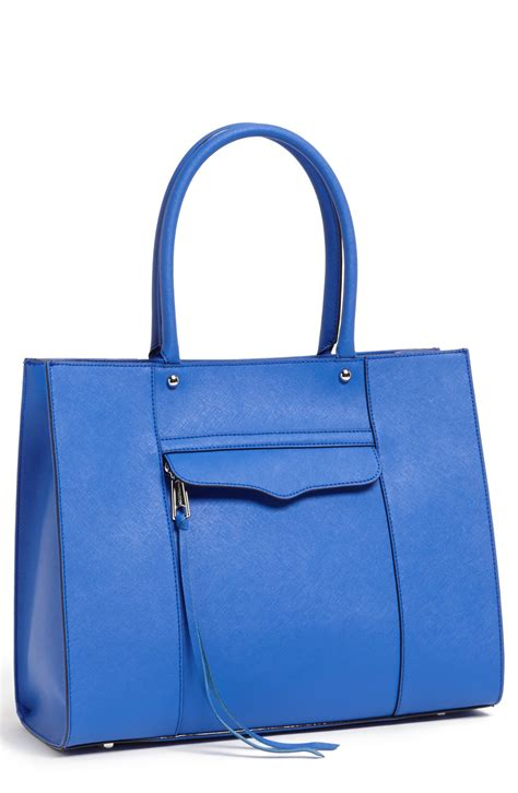 Minkoff Royal Blue Tote by Minkoff Medium Mab Tote In Blue Electric Blue Lyst