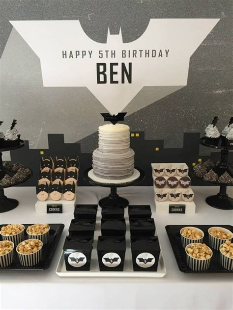 Modern Batman  Ee  Birthday Ee   Party