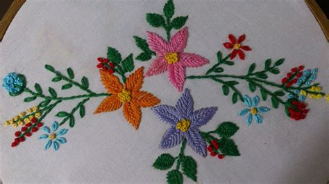 Handmade Embroidery Design - embroidery stitches tutorial embroidery designs