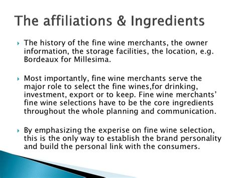 History Major To Mba by Mba Thesis Presentation Wine Auction And Brand Equity
