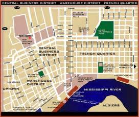 New Orleans French Quarter Tourist Map by Ieee Icps 2001 Conference New Orleans Information