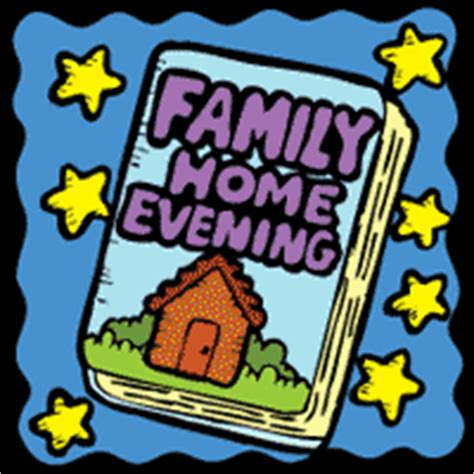 Family Home Evening Clipart by Family Home Evening Finch Family