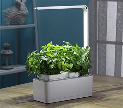self watering indoor planter with grow light irse indoor garden kit hydroponics led growing system 2