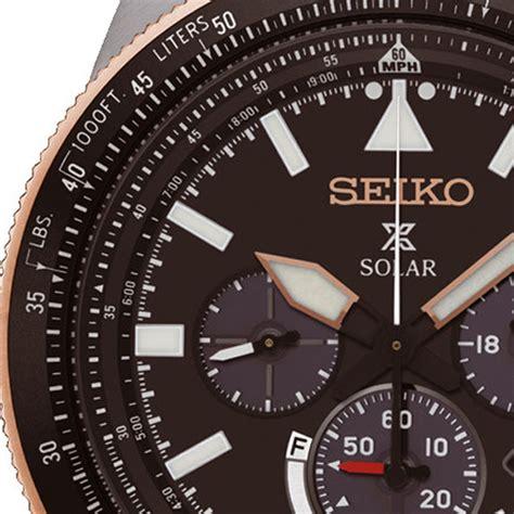 Seiko Prospex Sky Ssc611p1 Solar Chronograph Black Leather seiko prospex ssc611p1 swing indonesia