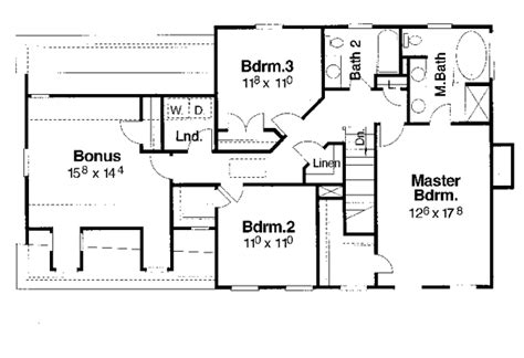 suson place colonial home plan brynne place colonial home plan 052d 0107 house plans