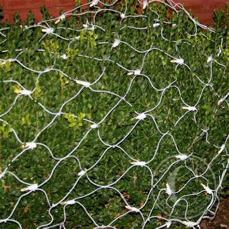net lights warm white led net lights on white wire
