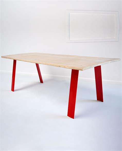 Pied De Table Incliné by Gat 0 Fabricant De Pieds De Table Et Plateau En Bois Design