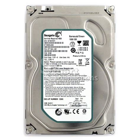 Hdd Seagate Maxstor 1tb 1 Tb Pc Vita stuart connections inc