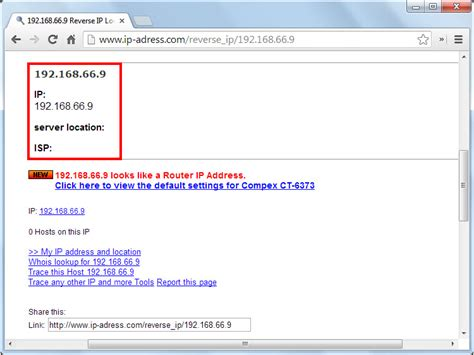 reverse  ip address  steps  pictures