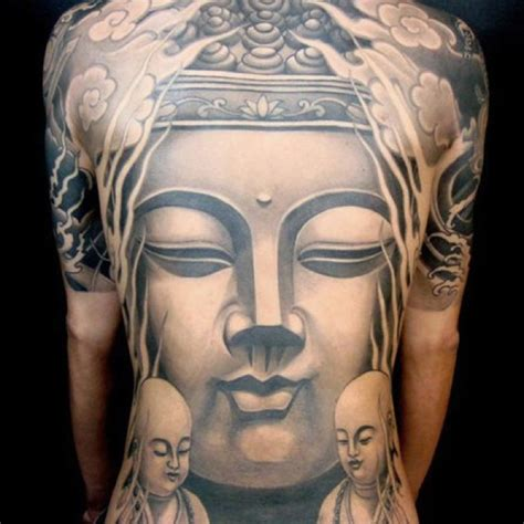 tattoo japanese buddha buddha tattoo full back piece tattoos pinterest