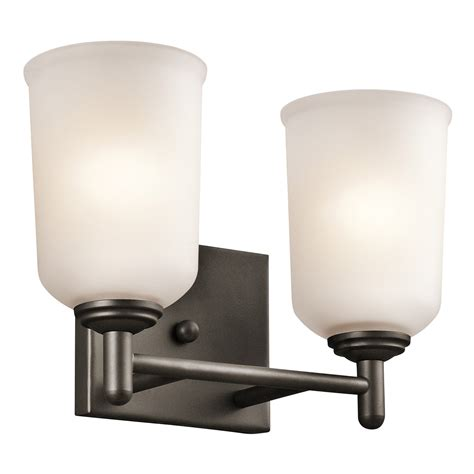 Kichler Vanity Lights Kichler 45573oz Shailene Bathroom Vanity Light