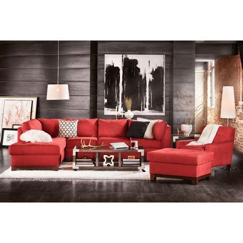 Livingroom Soho by Living Room Furniture Soho 2 Pc Sectional And