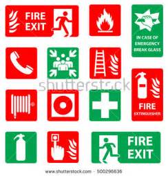 Emergency Exit Floor Plan Template safety signs stock images royalty free images amp vectors