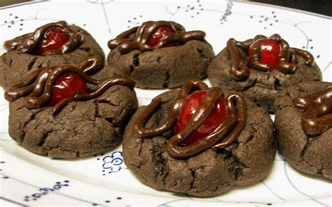 love chocolate covered cherries try them in cookie form