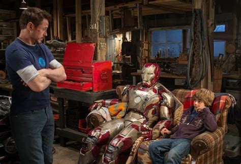 Kaos Oblong Ironman Jarvis Spandex iron 3 s ty simpkins returning for 4