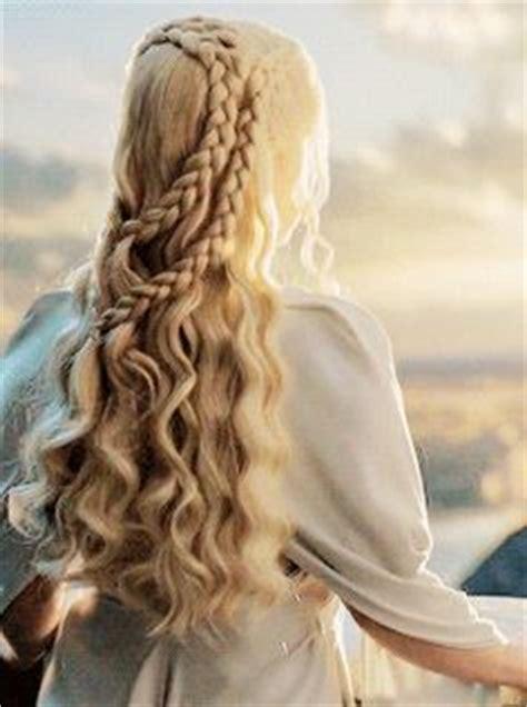 daenerys targaryen hair styles daenerys targaryen hair mall of thrones pinterest