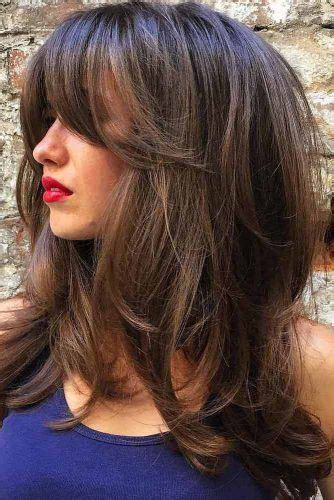 21 nice and flattering hairstyles with bangs hair type 141 best bangs hairstyles with bangs images on pinterest
