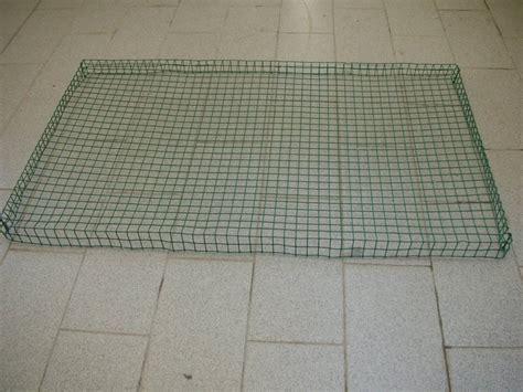 griglie per gabbie sabbietta per fondo gabbia
