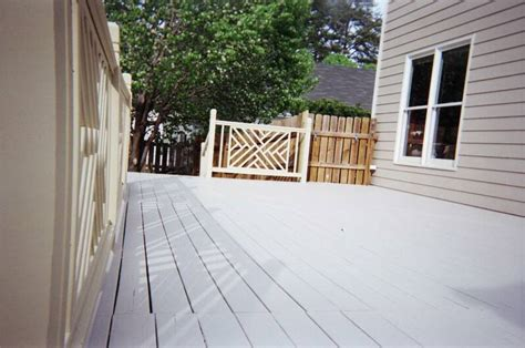 solid stained decks