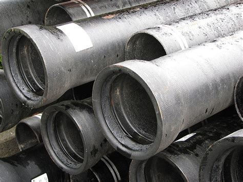 Cast Iron Plumbing Pipe by Ductile Iron Pipe Flickr Photo