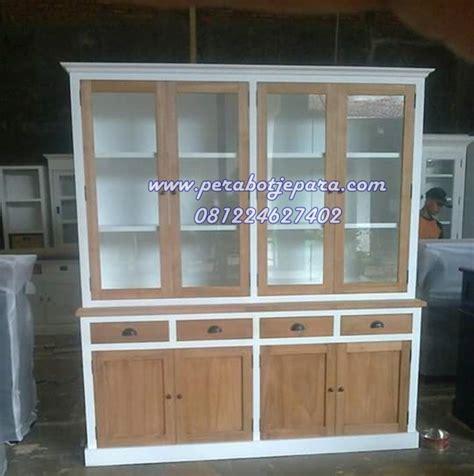 Lemari Kayu Bekasi jual lemari hias murah minimalis pesanan bapak arya bekasi perabot jepara perabot jati
