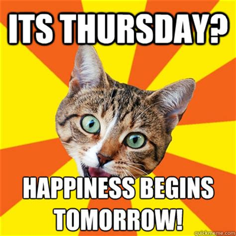 Funny Thursday Memes - its thursday clip art memes