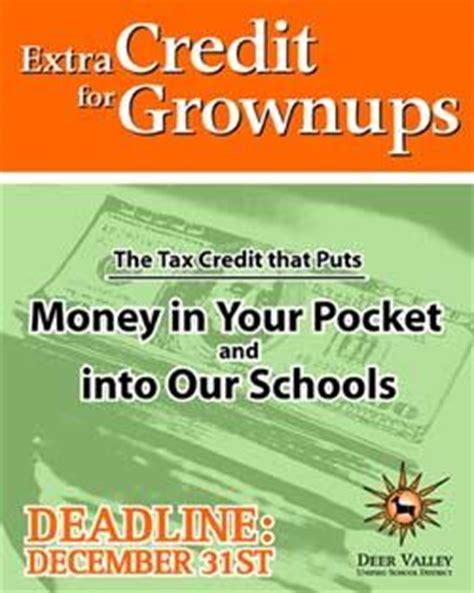 Tax Credit Form Gilbert Schools Tax Credit Tax Credits