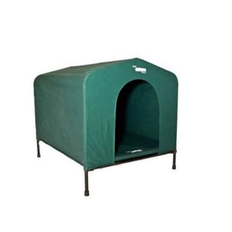 canvas dog house houndhouse canvas p dog kennel green large crazy sales