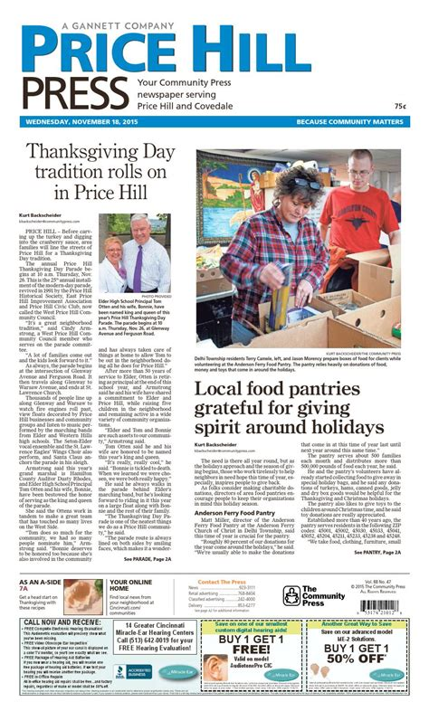 newspaper layout cost price hill press 111815 by enquirer media issuu
