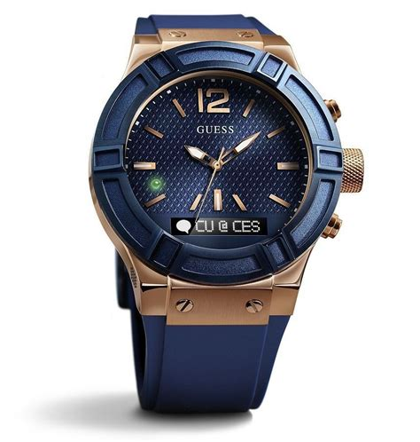 guess connect smartwatch styled by guess and powered by martian technology ablogtowatch