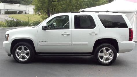 Used Cars For Sale By Owner Ta For Sale 2007 Chevrolet Tahoe Lt 1 Owner Stk 11611b