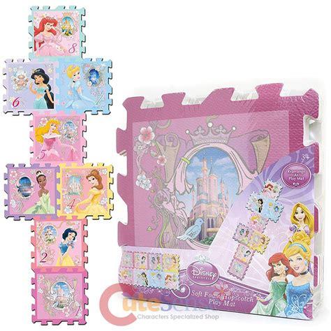 Puzzle Matspuzzle Lantai Princess 1 disney princess soft foam puzzle mats hopscotch play mat 8pc 12 034 x12 034 each ebay