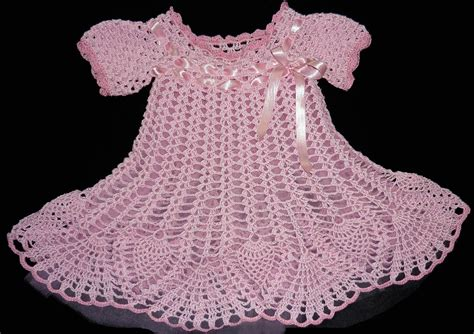 vestidos para bebes de tejido beb 233 s con vestidos tejidos imagui
