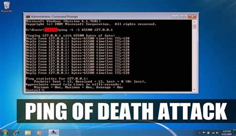 how to your to attack on command how to perform ping of attack using cmd and notepad just for learning